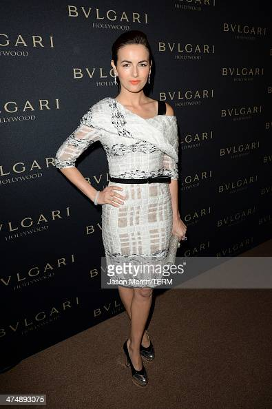 Actress Camilla Belle attends 'Decades of Glamour' presented by BVLGARI on February 25 2014 in West Hollywood California