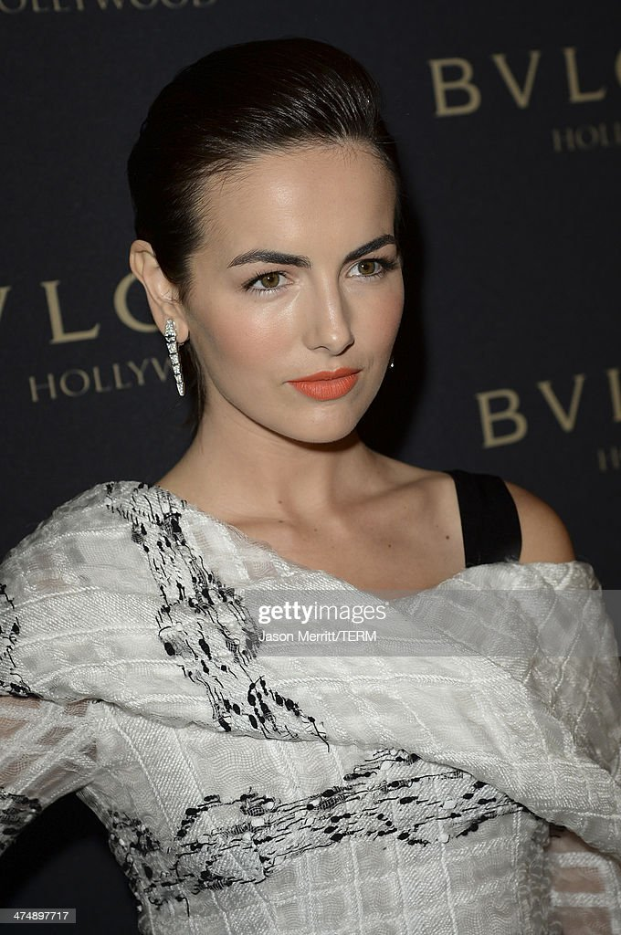 Actress Camilla Belle attends 'Decades of Glamour' presented by BVLGARI on February 25, 2014 in West Hollywood, California.