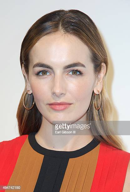 Actress Camilla Belle attends MOCA's 9th Awards To Distingusihed Women In The Arts at the Beverly Wilshire Four Seasons Hotel on October 28 2015 in...