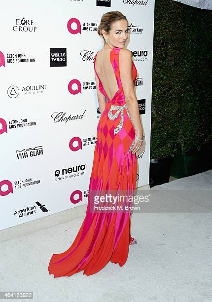 Actress Camilla Belle attends the 23rd Annual Elton John AIDS Foundation's Oscar Viewing Party on February 22 2015 in West Hollywood California