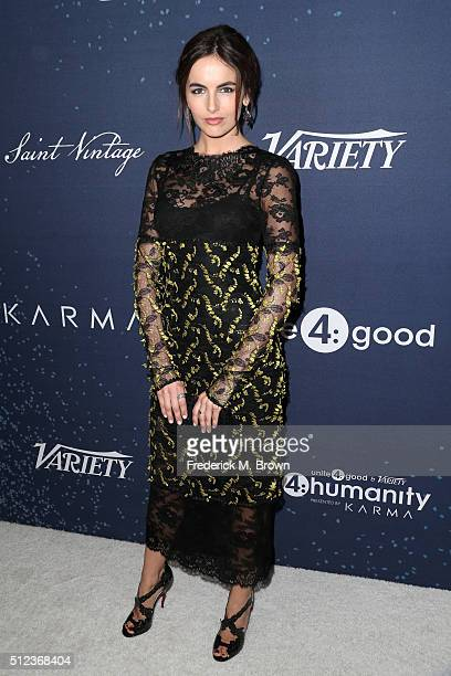 Actress Camilla Belle attends the 3rd annual unite4humanity at Montage Beverly Hills on February 25 2016 in Beverly Hills California