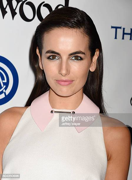 Actress Camilla Belle attends the Art of Elysium 2016 HEAVEN Gala presented by Vivienne Westwood Andreas Kronthaler at 3LABS on January 9 2016 in...
