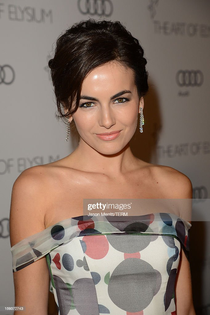 Actress Camilla Belle attends The Art of Elysium's 6th Annual HEAVEN Gala presented by Audi at 2nd Street Tunnel on January 12, 2013 in Los Angeles, California.