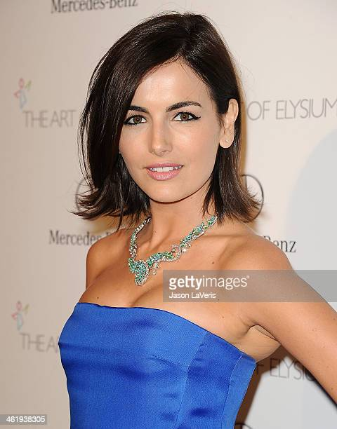 Actress Camilla Belle attends the Art of Elysium's 7th annual Heavan gala at Skirball Cultural Center on January 11 2014 in Los Angeles California