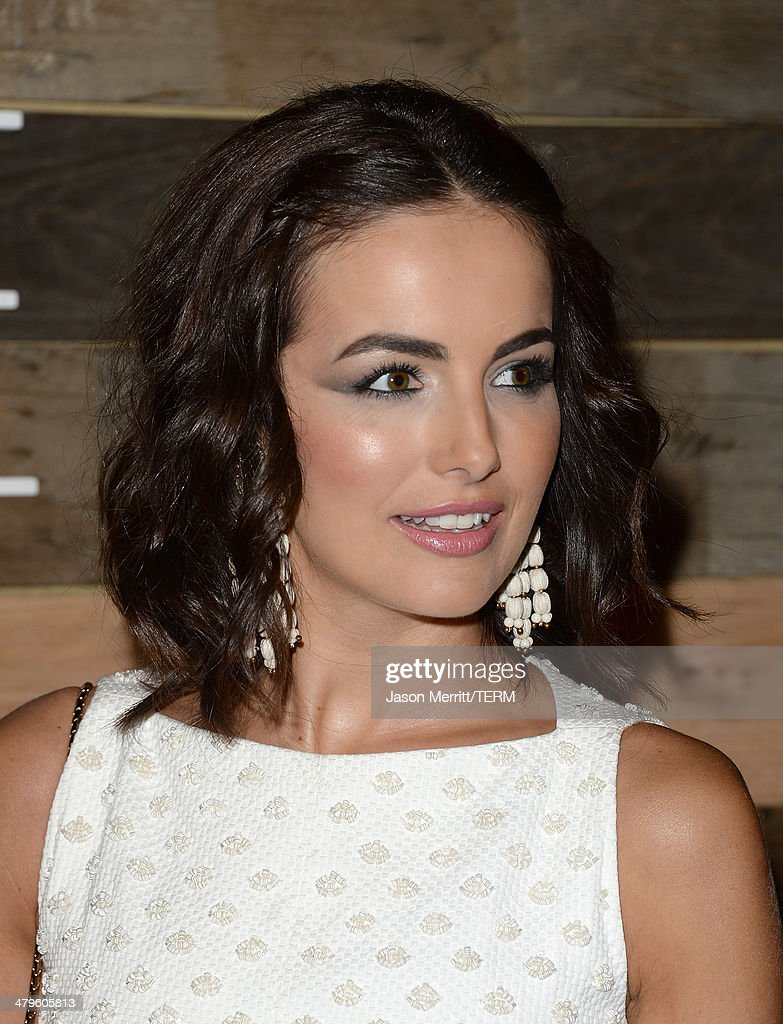 Actress Camilla Belle attends the H&M Conscious Collection dinner at Eveleigh on March 19, 2014 in West Hollywood, California.