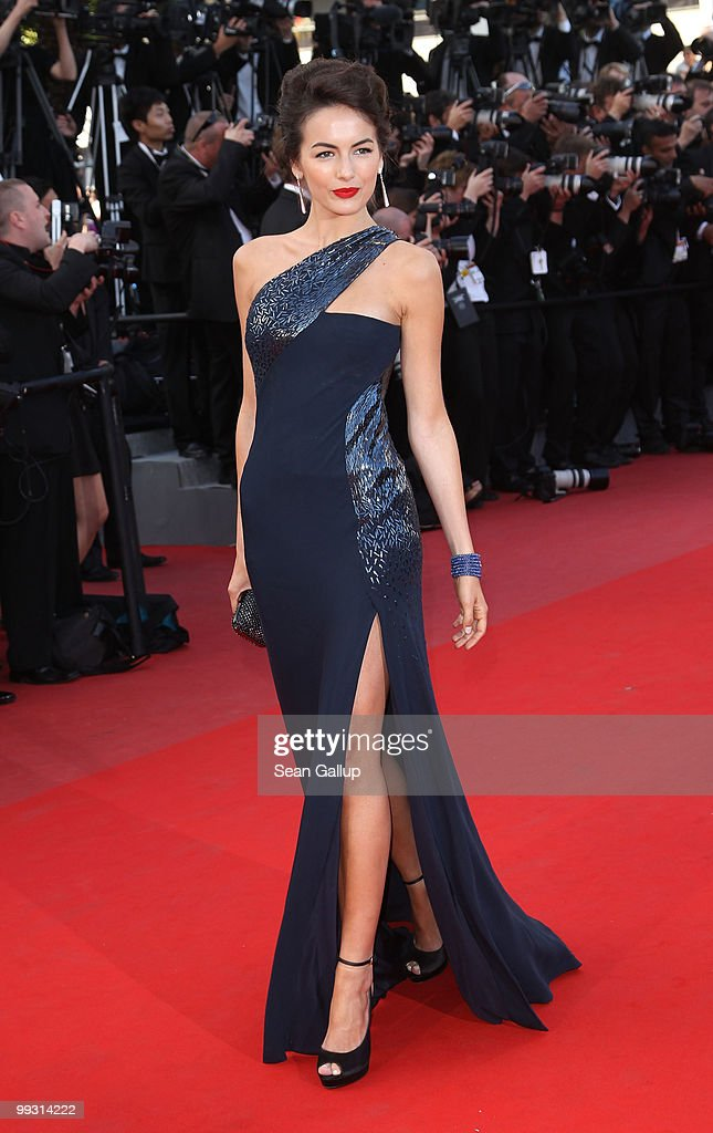 Actress <a gi-track='captionPersonalityLinkClicked' href=/galleries/search?phrase=Camilla+Belle&family=editorial&specificpeople=210585 ng-click='$event.stopPropagation()'>Camilla Belle</a> attends the 'IL Gattopardo' Premiere at the Palais des Festivals during the 63rd Annual Cannes Film Festival on May 14, 2010 in Cannes, France.