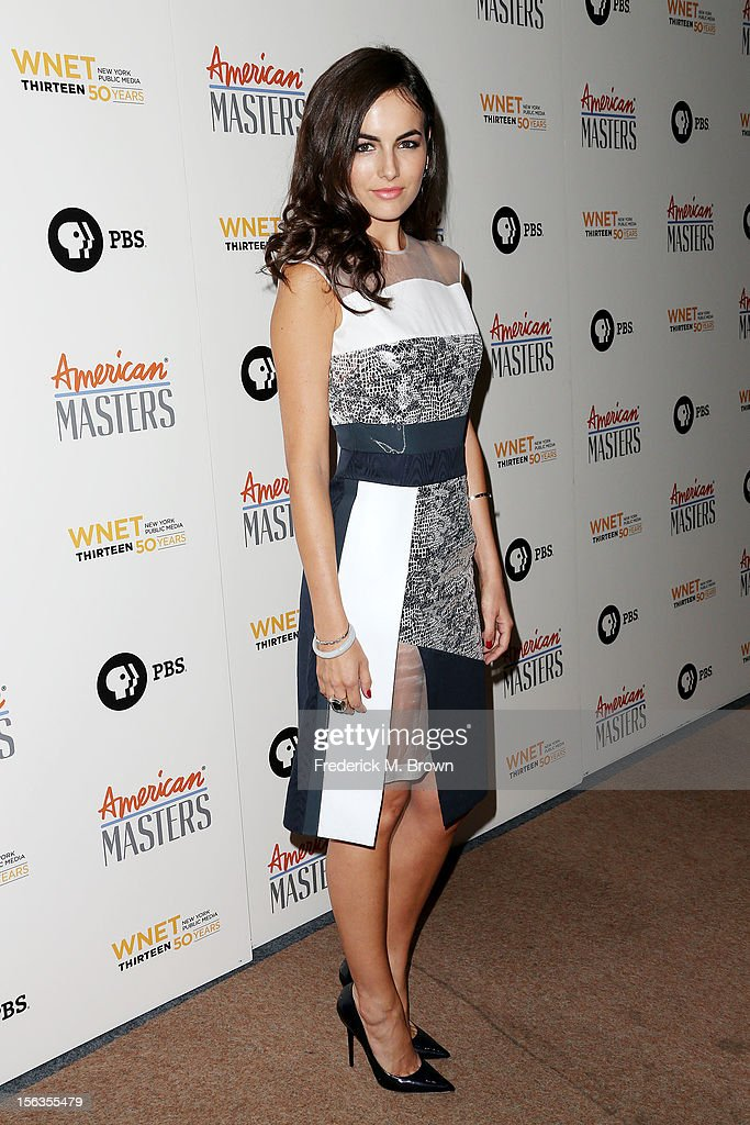 Actress Camilla Belle attends the Premiere Of 'American Masters Inventing David Geffen' at The Writers Guild of America on November 13, 2012 in Beverly Hills, California.