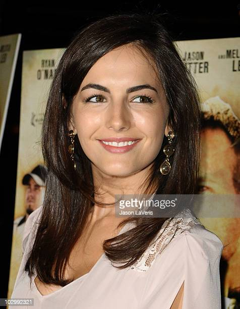 Actress Camilla Belle attends the premiere of 'The Dry Land' at Pacific Design Center on July 19 2010 in West Hollywood California