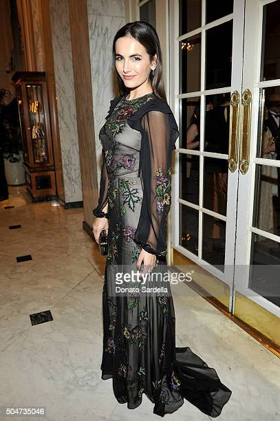 Actress Camilla Belle attends the Sixth Biennial UNICEF Ball Honoring David Beckham and C L Max Nikias presented by Louis Vuitton at Regent Beverly...