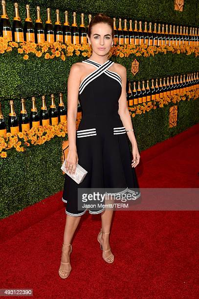 Actress Camilla Belle attends the SixthAnnual Veuve Clicquot Polo Classic at Will Rogers State Historic Park on October 17 2015 in Pacific Palisades...