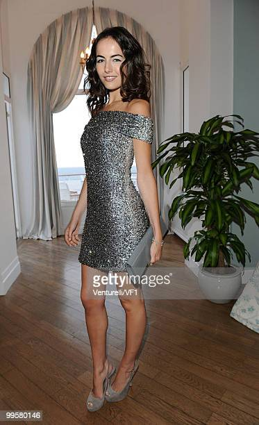 Actress Camilla Belle attends the Vanity Fair and Gucci Party Honoring Martin Scorsese during the 63rd Annual Cannes Film Festival at the Hotel Du...