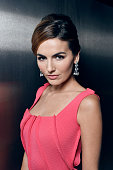 Actress Camilla Belle poses for a portrait at the amfAR LA Inspiration Gala on October 29 2014 in Los Angeles California