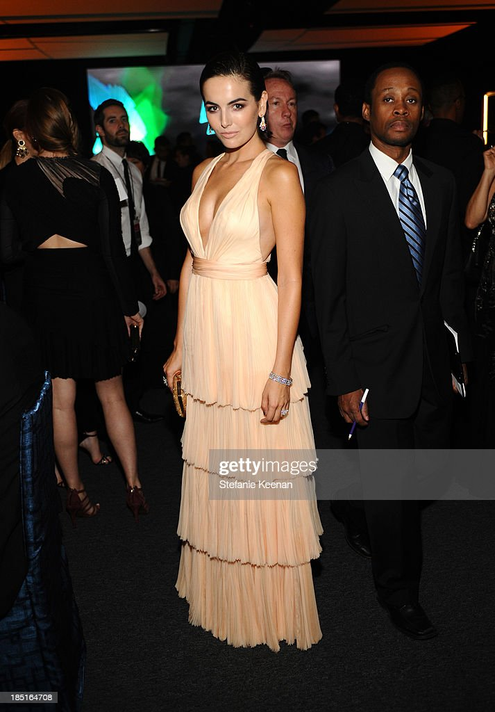 Actress <a gi-track='captionPersonalityLinkClicked' href=/galleries/search?phrase=Camilla+Belle&family=editorial&specificpeople=210585 ng-click='$event.stopPropagation()'>Camilla Belle</a>, wearing Ferragamo, attends the Wallis Annenberg Center for the Performing Arts Inaugural Gala presented by Salvatore Ferragamo at the Wallis Annenberg Center for the Performing Arts on October 17, 2013 in Beverly Hills, California.