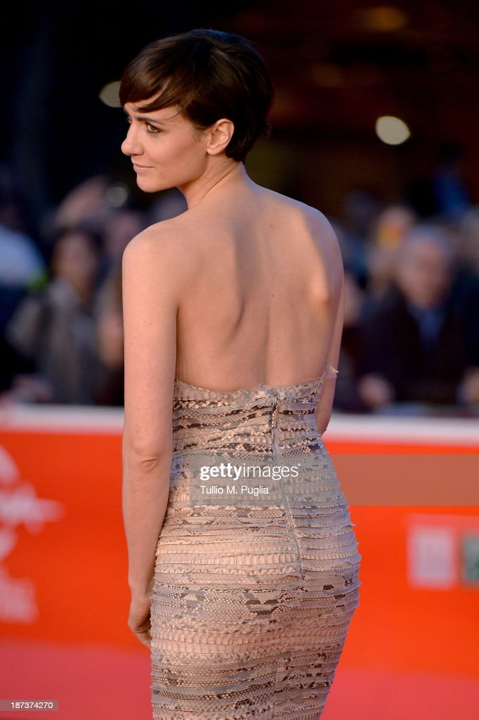 Actress Camilla Filippi attends 'Il Mondo Fino In Fondo' Premiere during The 8th Rome Film Festival at the Auditorium Parco Della Musica on November 8, 2013 in Rome, Italy.