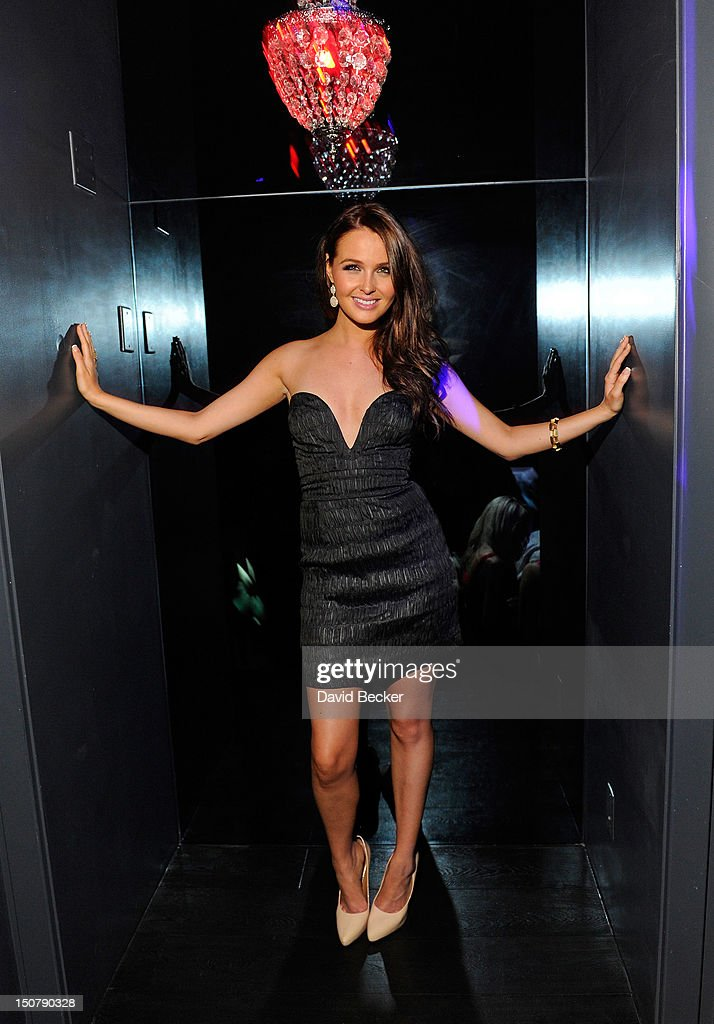 Actress Camilla Luddington appears at Chateau Nightclub & Gardens at the Paris Las Vegas on August 25, 2012 in Las Vegas, Nevada.
