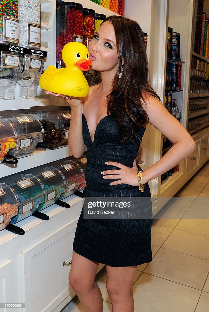 Actress Camilla Luddington appears at the Sugar Factory at the Paris Las Vegas on August 25, 2012 in Las Vegas, Nevada.