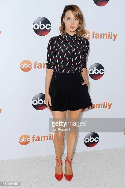 Actress Camilla Luddington arrives at Disney ABC Television Group's 2015 TCA Summer Press Tour at the Beverly Hilton Hotel on August 4 2015 in...