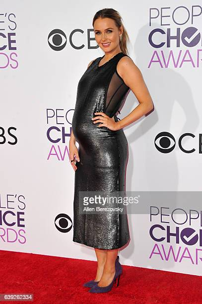 Actress Camilla Luddington arrives at People's Choice Awards 2017 at Microsoft Theater on January 18 2017 in Los Angeles California