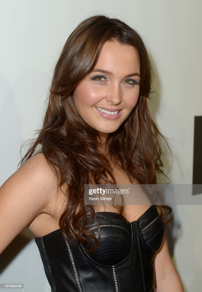 Actress Camilla Luddington arrives at Spike TV's 10th annual Video Game Awards at Sony Studios on December 7 2012 in Culver City California