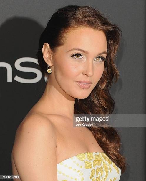 Actress Camilla Luddington arrives at the 16th Annual Warner Bros And InStyle PostGolden Globe Party at The Beverly Hilton Hotel on January 11 2015...