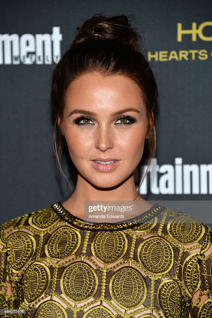 Actress Camilla Luddington arrives at the 2014 Entertainment Weekly Pre-Emmy Party at Fig & Olive Melrose Place on August 23, 2014 in West Hollywood, California.