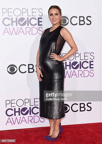 Actress Camilla Luddington arrives at the 2017 People's Choice Awards at Microsoft Theater on January 18 2017 in Los Angeles California