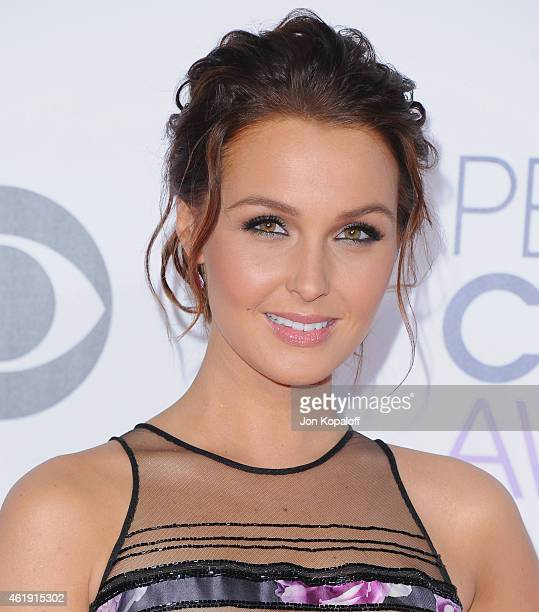 Actress Camilla Luddington arrives at The 41st Annual People's Choice Awards at Nokia Theatre LA Live on January 7 2015 in Los Angeles California