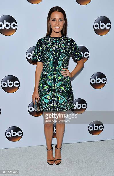 Actress Camilla Luddington arrives at the ABC TCA 'Winter Press Tour 2015' Red Carpet on January 14 2015 in Pasadena California
