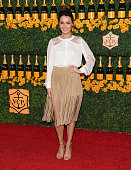 Actress Camilla Luddington arrives at the SixthAnnual Veuve Clicquot Polo Classic Los Angeles at Will Rogers State Historic Park on October 17 2015...