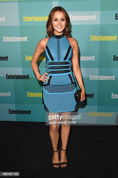 Actress Camilla Luddington attends Entertainment Weekly's ComicCon 2015 Party sponsored by HBO Honda Bud Light Lime and Bud Light Ritas at FLOAT at...