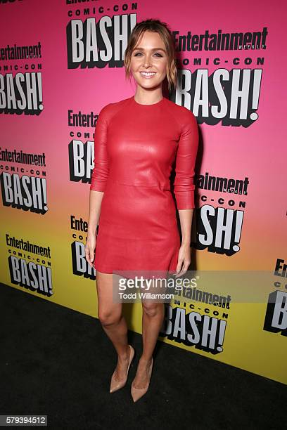 Actress Camilla Luddington attends Entertainment Weekly's ComicCon Bash held at Float Hard Rock Hotel San Diego on July 23 2016 in San Diego...