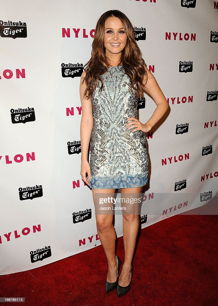 Actress Camilla Luddington attends Nylon Magazine's Young Hollywood issue event at The Roosevelt Hotel on May 14, 2013 in Hollywood, California.