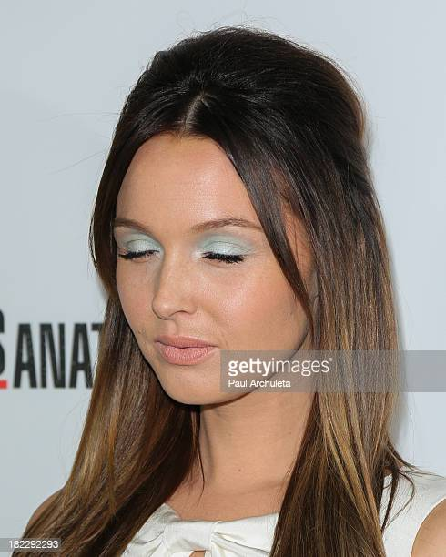 Actress Camilla Luddington attends the 200th episode celebration of 'Grey's Anatomy' at The Colony on September 28 2013 in Los Angeles California