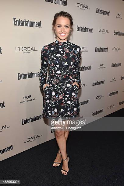 Actress Camilla Luddington attends the 2015 Entertainment Weekly PreEmmy Party at Fig Olive Melrose Place on September 18 2015 in West Hollywood...