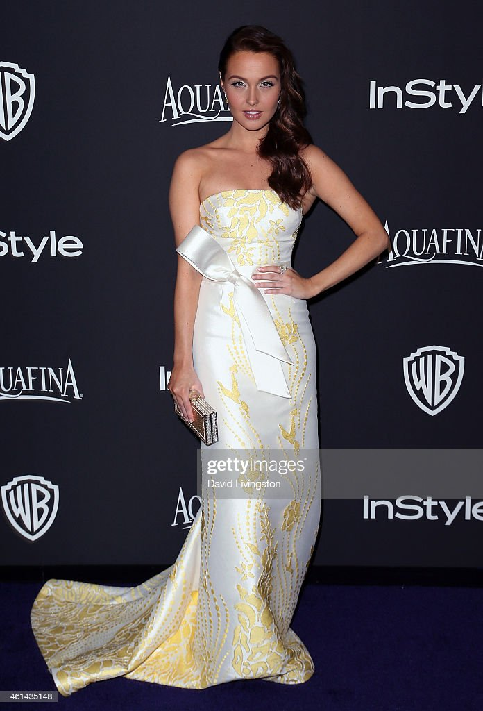 Actress Camilla Luddington attends the 2015 InStyle and Warner Bros. 72nd Annual Golden Globe Awards Post-Party at The Beverly Hilton Hotel on January 11, 2015 in Beverly Hills, California.