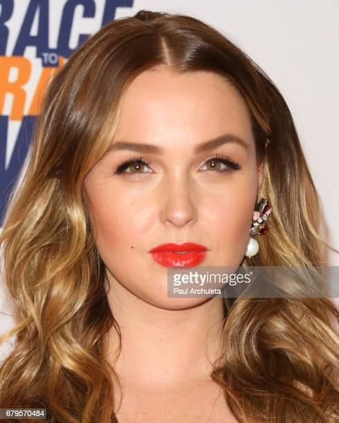 Actress Camilla Luddington attends the 24th annual Race To Erase MS Gala at The Beverly Hilton Hotel on May 5 2017 in Beverly Hills California