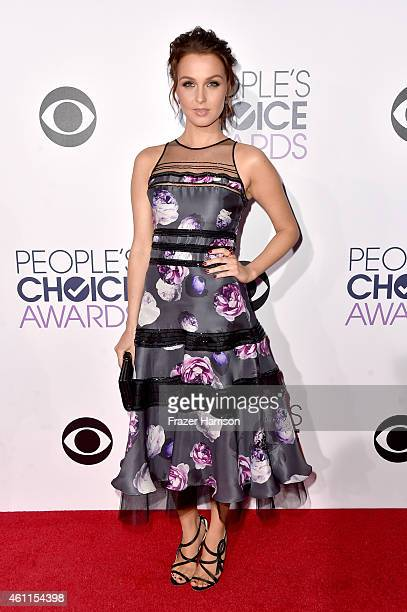 Actress Camilla Luddington attends The 41st Annual People's Choice Awards at Nokia Theatre LA Live on January 7 2015 in Los Angeles California