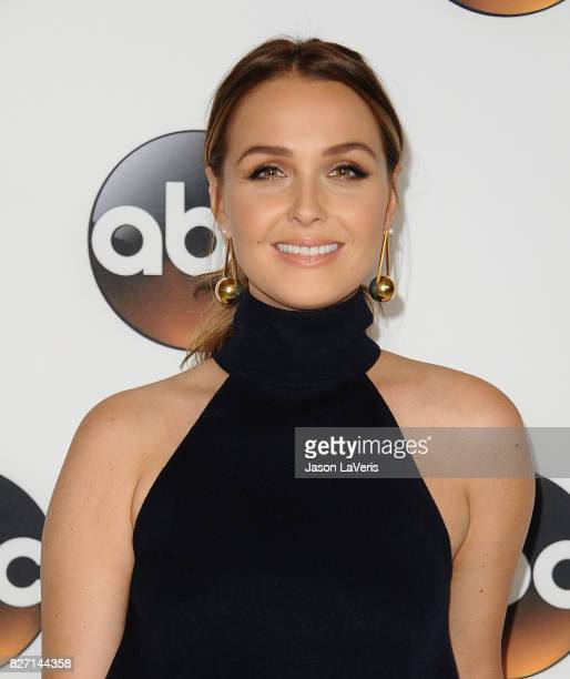 Actress Camilla Luddington attends the Disney ABC Television Group TCA summer press tour at The Beverly Hilton Hotel on August 6 2017 in Beverly...