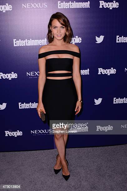 Actress Camilla Luddington attends the Entertainment Weekly and PEOPLE celebration of The New York Upfronts at The Highline Hotel on May 11 2015 in...