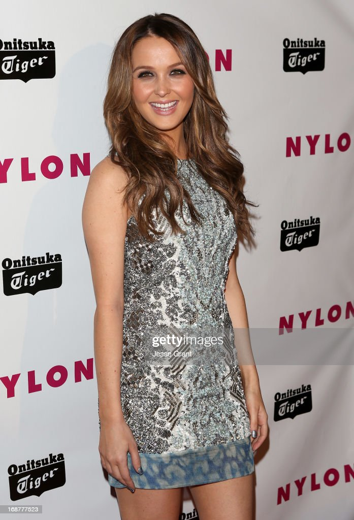 Actress Camilla Luddington attends the NYLON Magazine Annual May Young Hollywood Issue Party at The Roosevelt Hotel on May 14, 2013 in Hollywood, California.