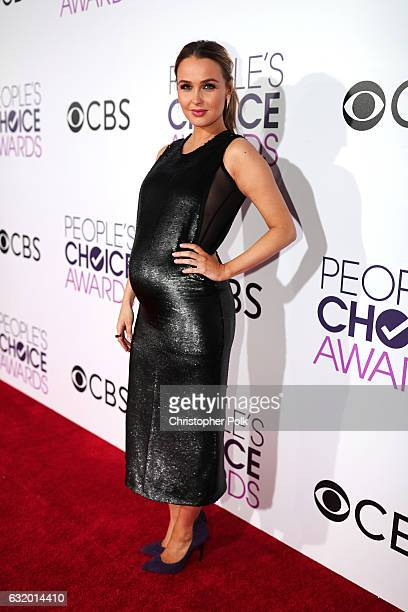 Actress Camilla Luddington attends the People's Choice Awards 2017 at Microsoft Theater on January 18 2017 in Los Angeles California