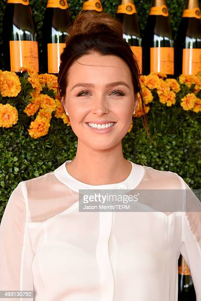 Actress Camilla Luddington attends the SixthAnnual Veuve Clicquot Polo Classic at Will Rogers State Historic Park on October 17 2015 in Pacific...