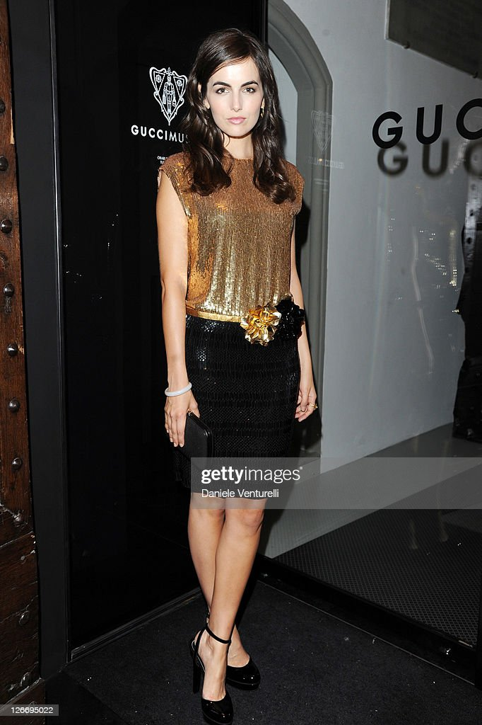 Actress Camille Belle attends the Gucci Museum opening on September 26, 2011 in Florence, Italy.