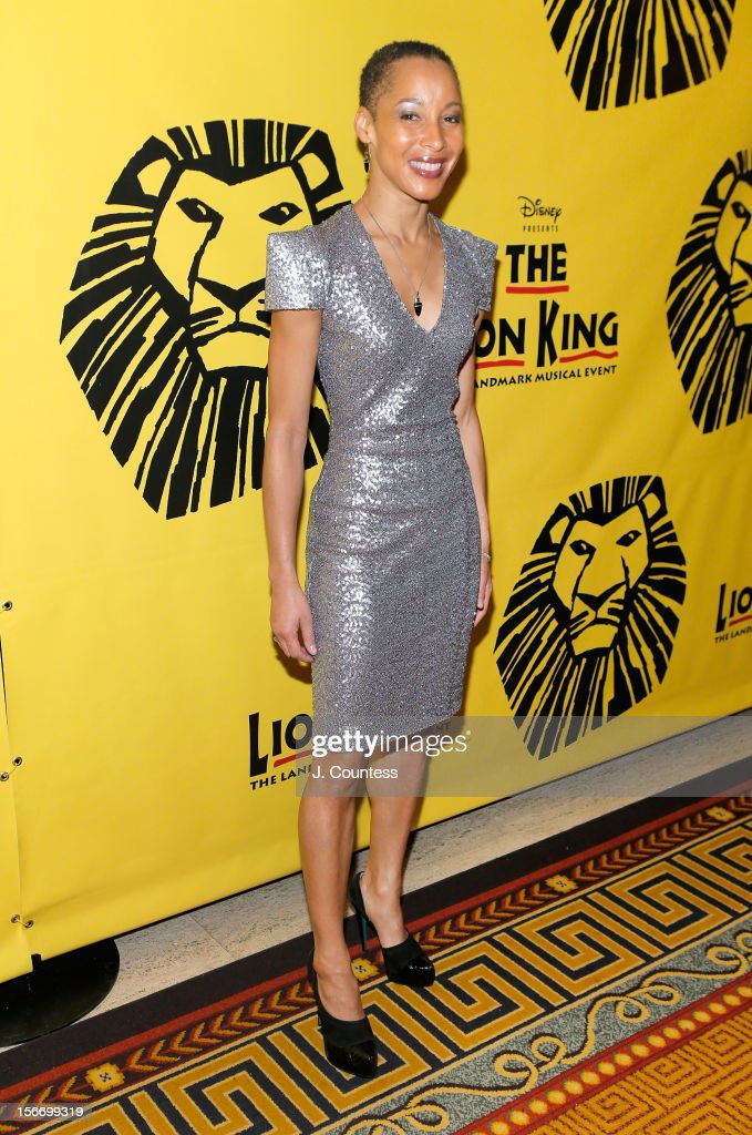 Actress Camille Brown attends the afterparty for 'The Lion King' Broadway 15th Anniversary Celebration at Minskoff Theatre on November 18, 2012 in New York City.
