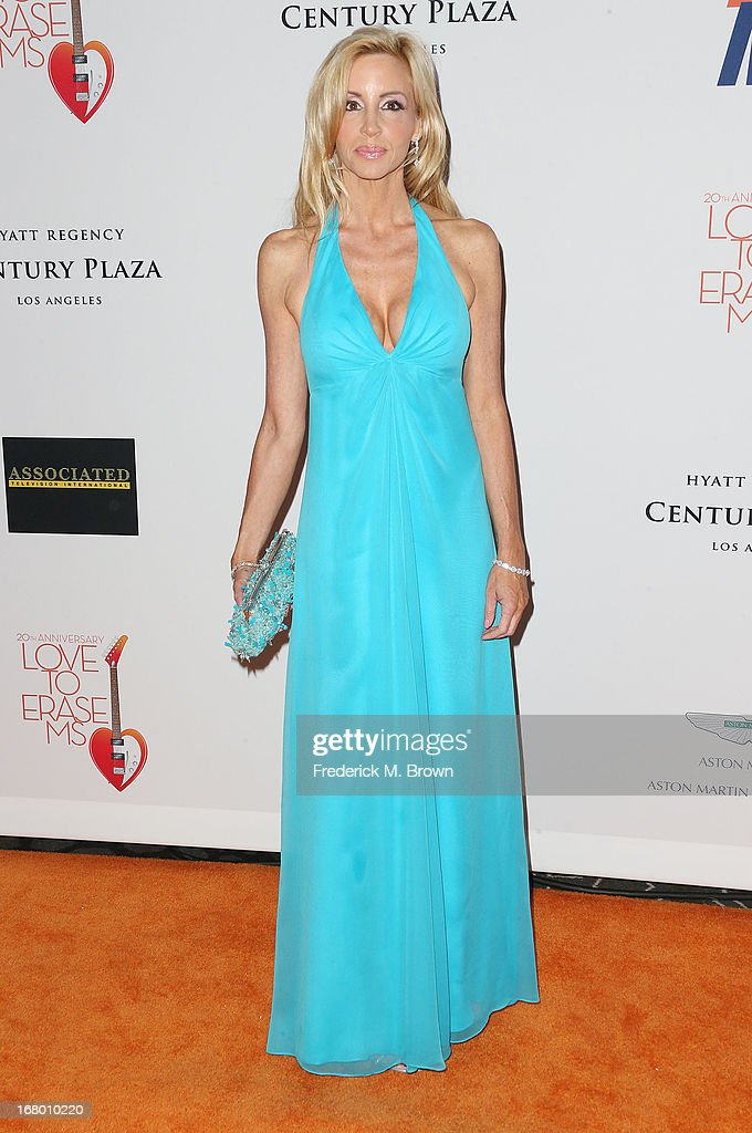 Actress Camille Grammer attends the 20th Annual Race to Erase MS Gala 'Love to Erase MS' at the Hyatt Regency Century Plaza on May 3, 2013 in Century City, California.