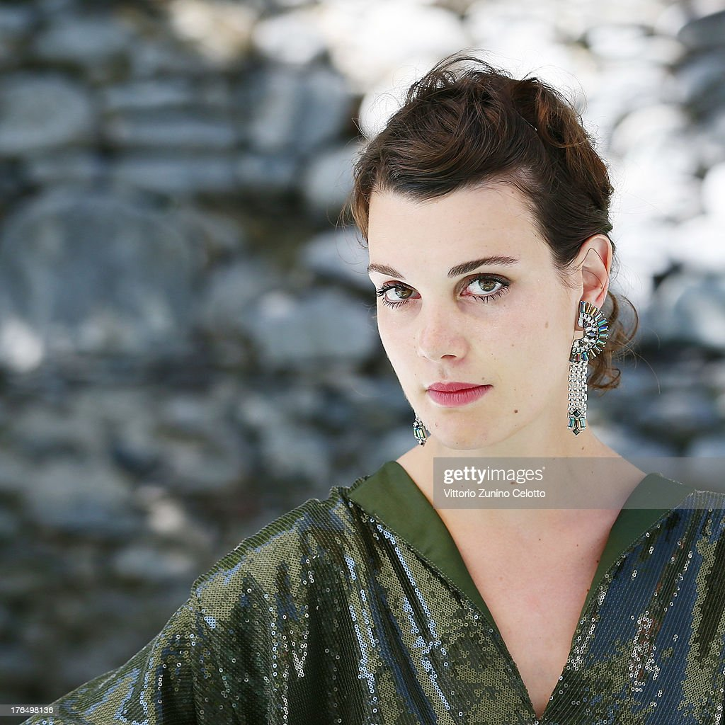 Actress Camille Rutherford poses for a portrait during the 66th Locarno Film Festival on August 14, 2013 in Locarno, Switzerland.