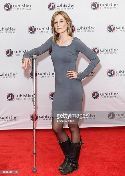 Actress Camille Sullivan arrives at the premiere screening of 'Ally Was Screaming' at Whistler Film Festival on December 5 2014 in Whistler Canada
