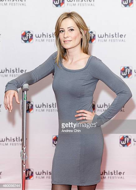 Actress Camille Sullivan arrives at the premiere screening of 'Ally Was Screaming' at Village 8 Cinema at Whistler Film Festival on December 5 2014...