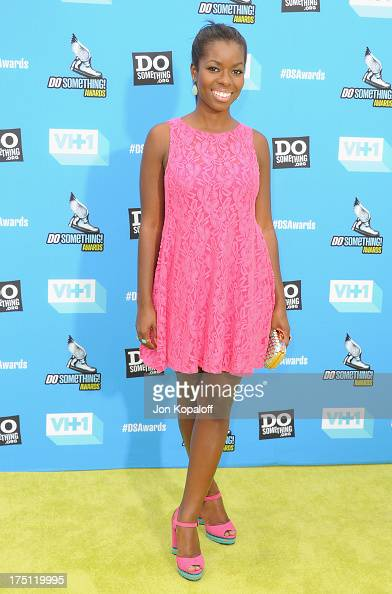 Actress Camille Winbush arrives at the 2013 Do Something Awards at Avalon on July 31 2013 in Hollywood California