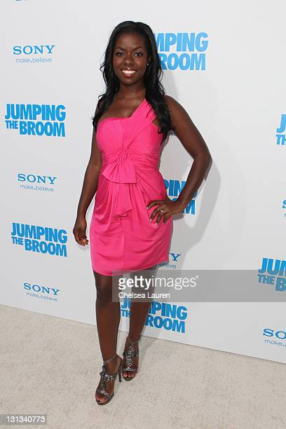 Actress Camille Winbush arrives at the Los Angeles premiere of 'Jumping The Broom' at ArcLight Cinemas Cinerama Dome on May 4 2011 in Hollywood...